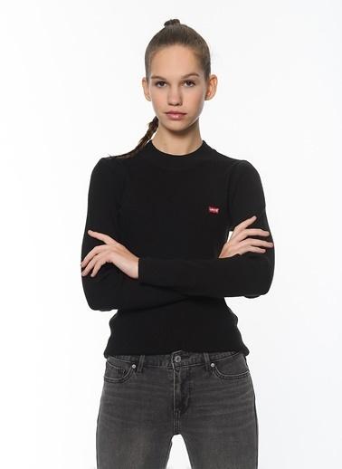 Levi's® Levi'S Kadın Boðazlı Sweatshirt 21967-0001-0002-0003 Siyah